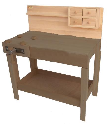 Frühe Förderung / Kinder-Werkbank | Holz Spielzeug Peitz