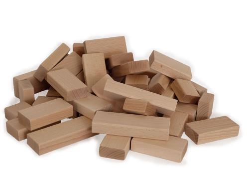 Bau- & Konstruktionsspielzeug-Sets Baukasten 240 Bausteine Bauklötze Bauernhof Spielzeug für Kinder ab 2 Jahre
