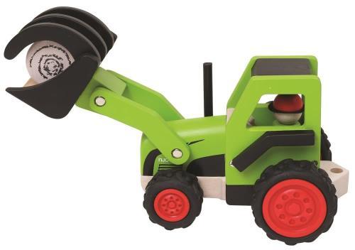 Fahrzeuge Holzspielzeug Tiere Holz Holztraktor Trekker Trecker Kinder Holzfahrzeug Bauernhof Traktor