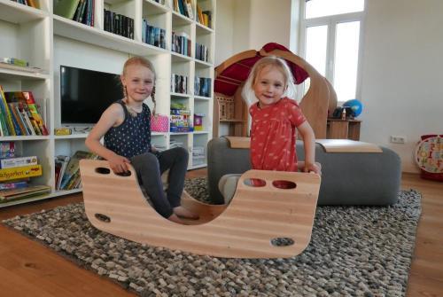 Kletterbogen Holzwippe : Universell einsetzbar! holzwippen klettermöbeln holz spielzeug peitz