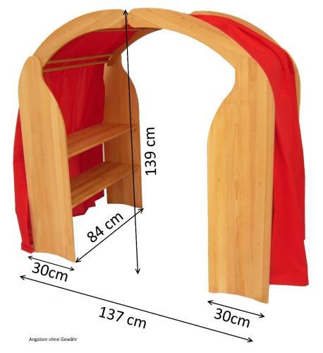 Waldorf Spielständer Holz Spielhaus Holz Spielzeug Peitz