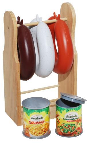 Platzsparend! Kinder-Tisch-Küche   Holz Spielzeug Peitz