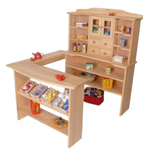 kindergarten kaufmannsladen holz spielzeug peitz. Black Bedroom Furniture Sets. Home Design Ideas