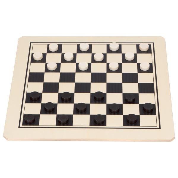 Brettspiel Dame Spielen