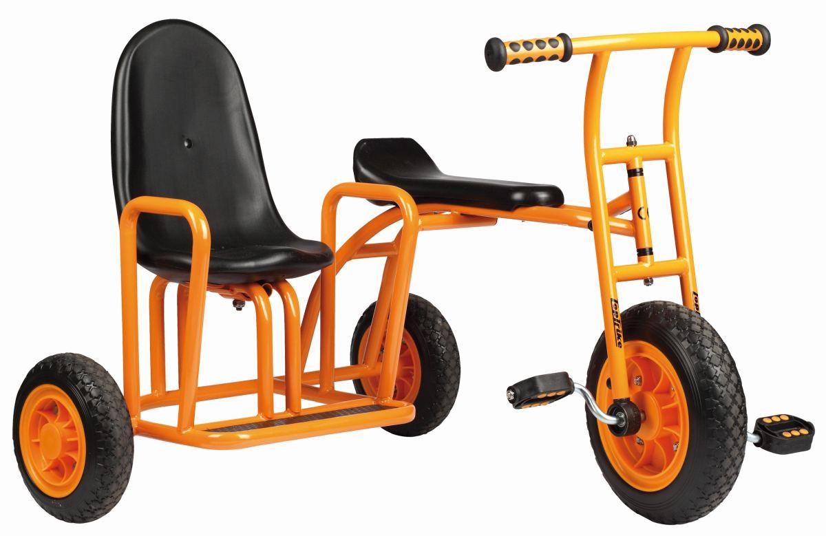 kinder dreirad seitenwagen kita fahrzeug holz. Black Bedroom Furniture Sets. Home Design Ideas