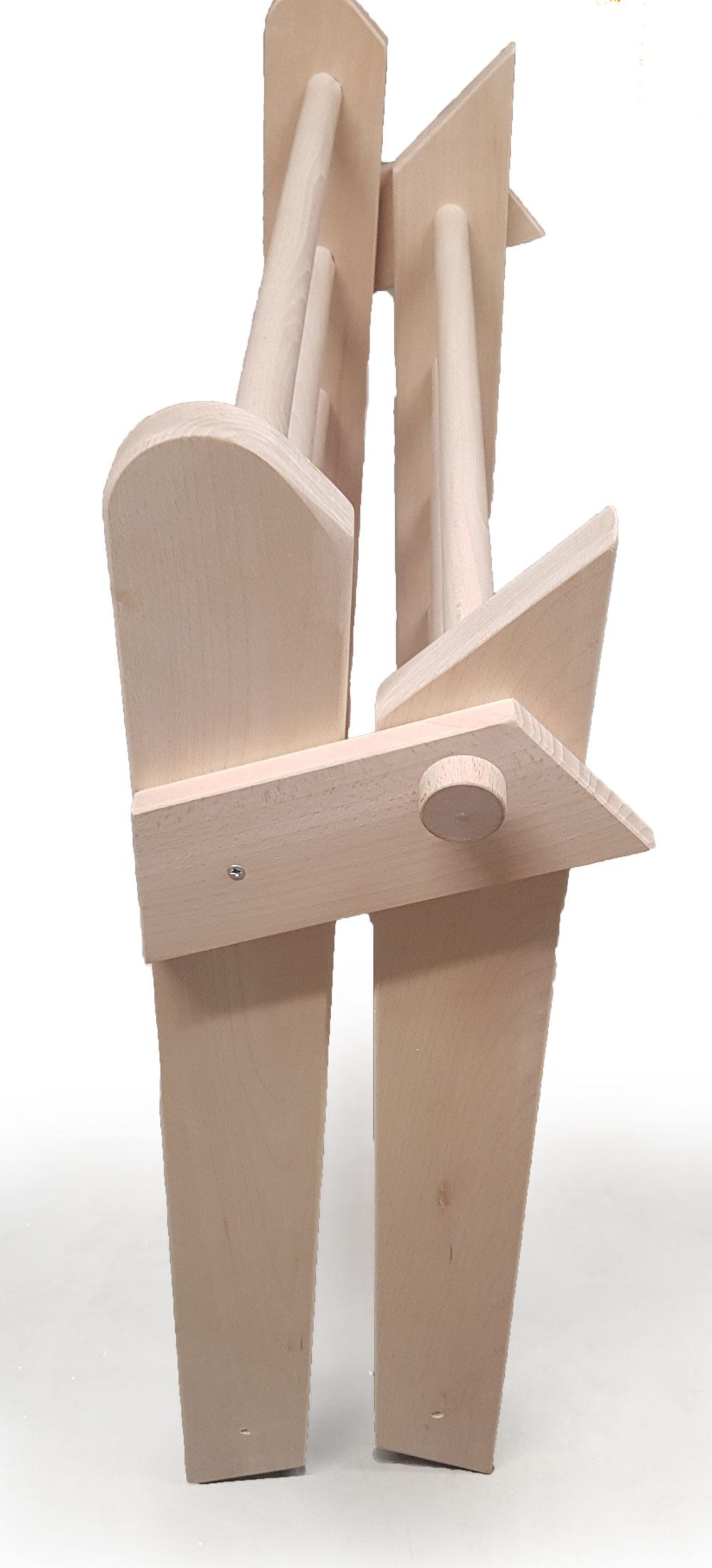 Kletterdreieck - tolles Spielgerät   Holz Spielzeug Peitz