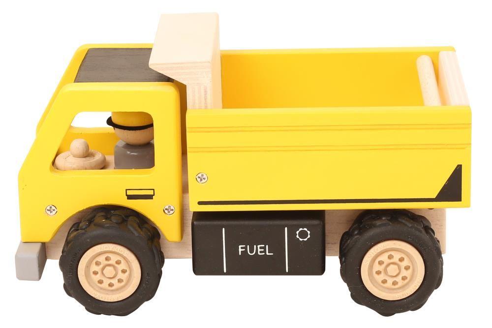 baustellen laster kinder kipplaster holz spielzeug peitz. Black Bedroom Furniture Sets. Home Design Ideas