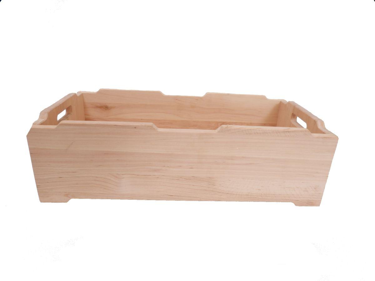 "Niedrige Stapel-Holz-Kiste ""Hamburg"" | Holz Spielzeug Peitz"