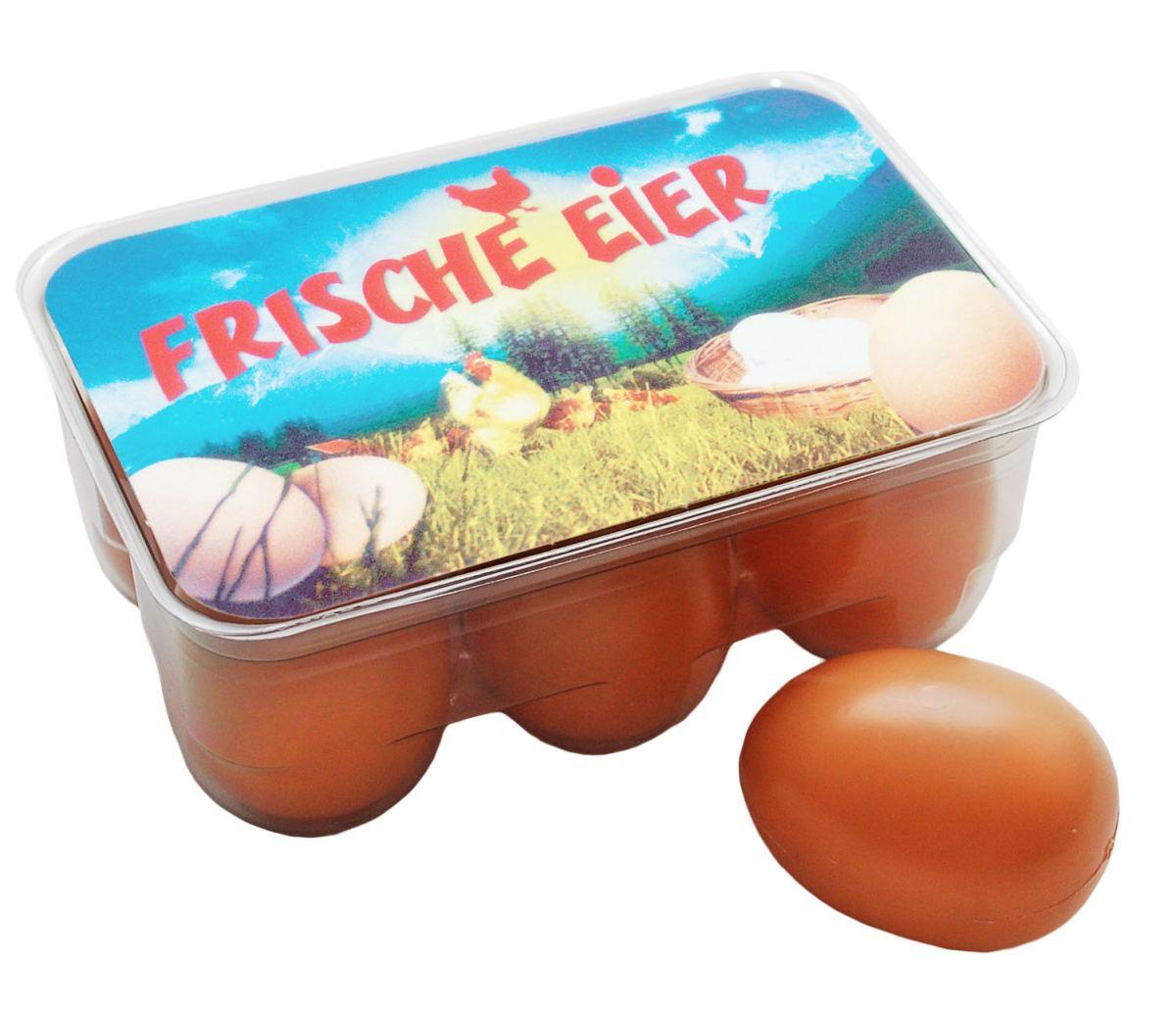 Kinder-Eierbox! Kaufladenzubehör | Holz Spielzeug Peitz