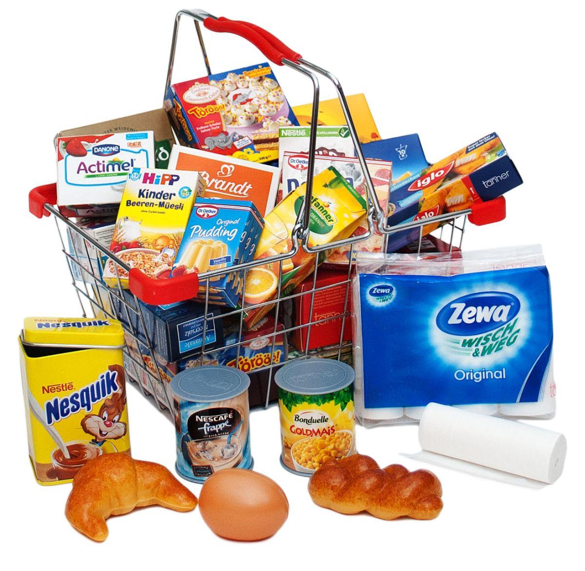 Kaufladenzubehör Einkaufskorb | Holz Spielzeug Peitz