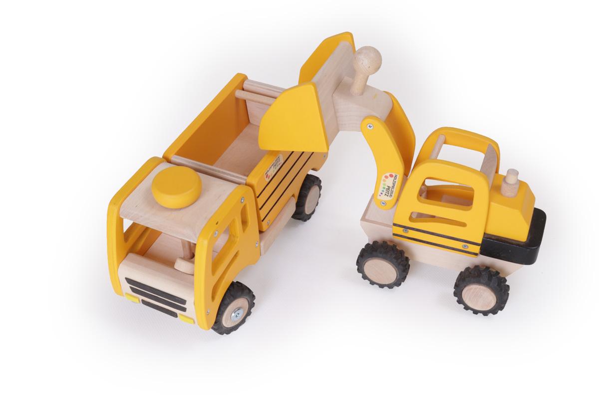 Bagger Spielzeug Fahrzeuge Kinder Baustelle Sandspielzeug