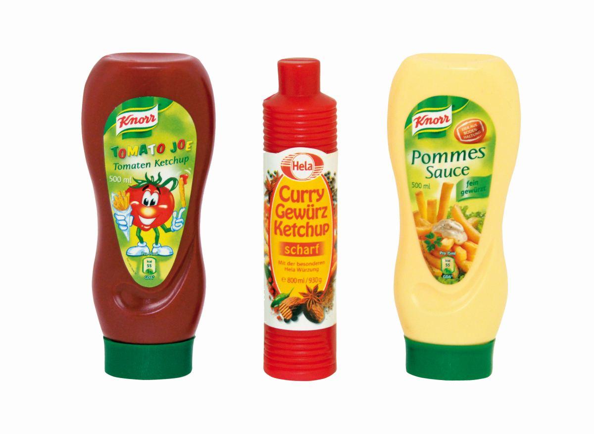 Knorr + Hela Ketchup und Mayo Set Tanner Kaufladen-Zubehör Spielzeug 0061.0