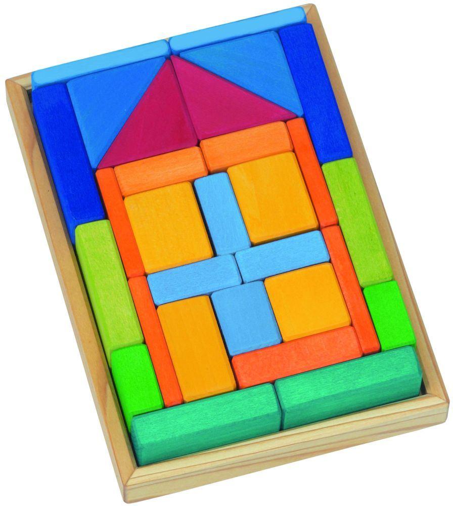 Natur Holz Spielzeug! Baukasten   Holz Spielzeug Peitz