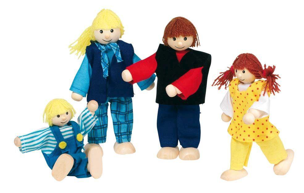 Holzpuppenhaus massivem Holz 5017 Villa für Puppen von Holzspielzeug-Peitz