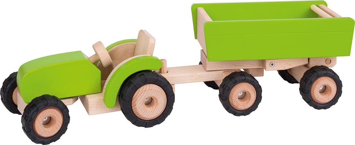 Holzspielzeug Traktor Holz