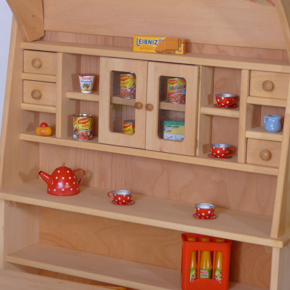 kinder kaufmannsladen mit theke holz spielzeug peitz. Black Bedroom Furniture Sets. Home Design Ideas