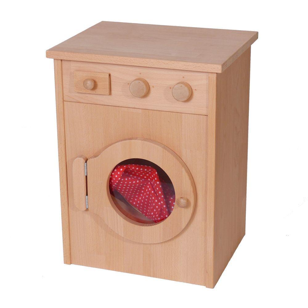 kinder waschmaschine mit bullauge holz spielzeug peitz. Black Bedroom Furniture Sets. Home Design Ideas