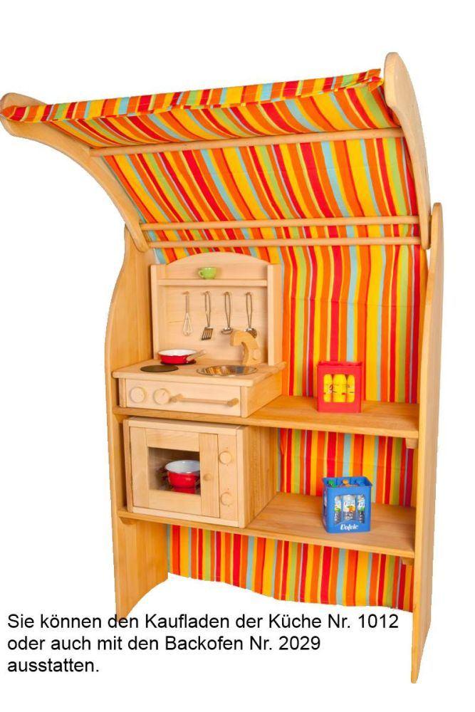 Klein und fein! Massive Tisch-Küche! | Holz Spielzeug Peitz