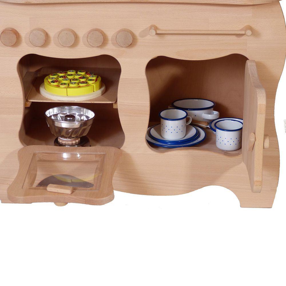 schwungvolle kinder spielk che holz spielzeug peitz. Black Bedroom Furniture Sets. Home Design Ideas