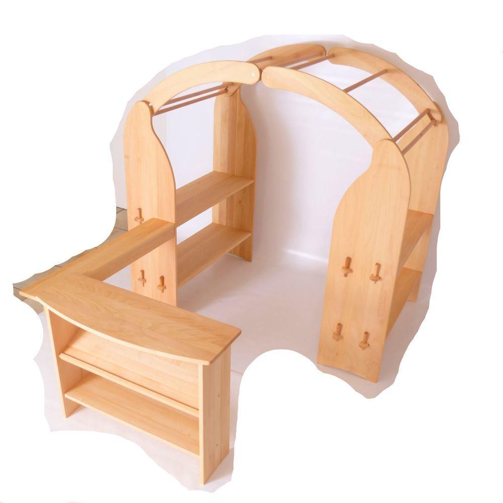 kinder spieltheke massivholz holz spielzeug peitz. Black Bedroom Furniture Sets. Home Design Ideas