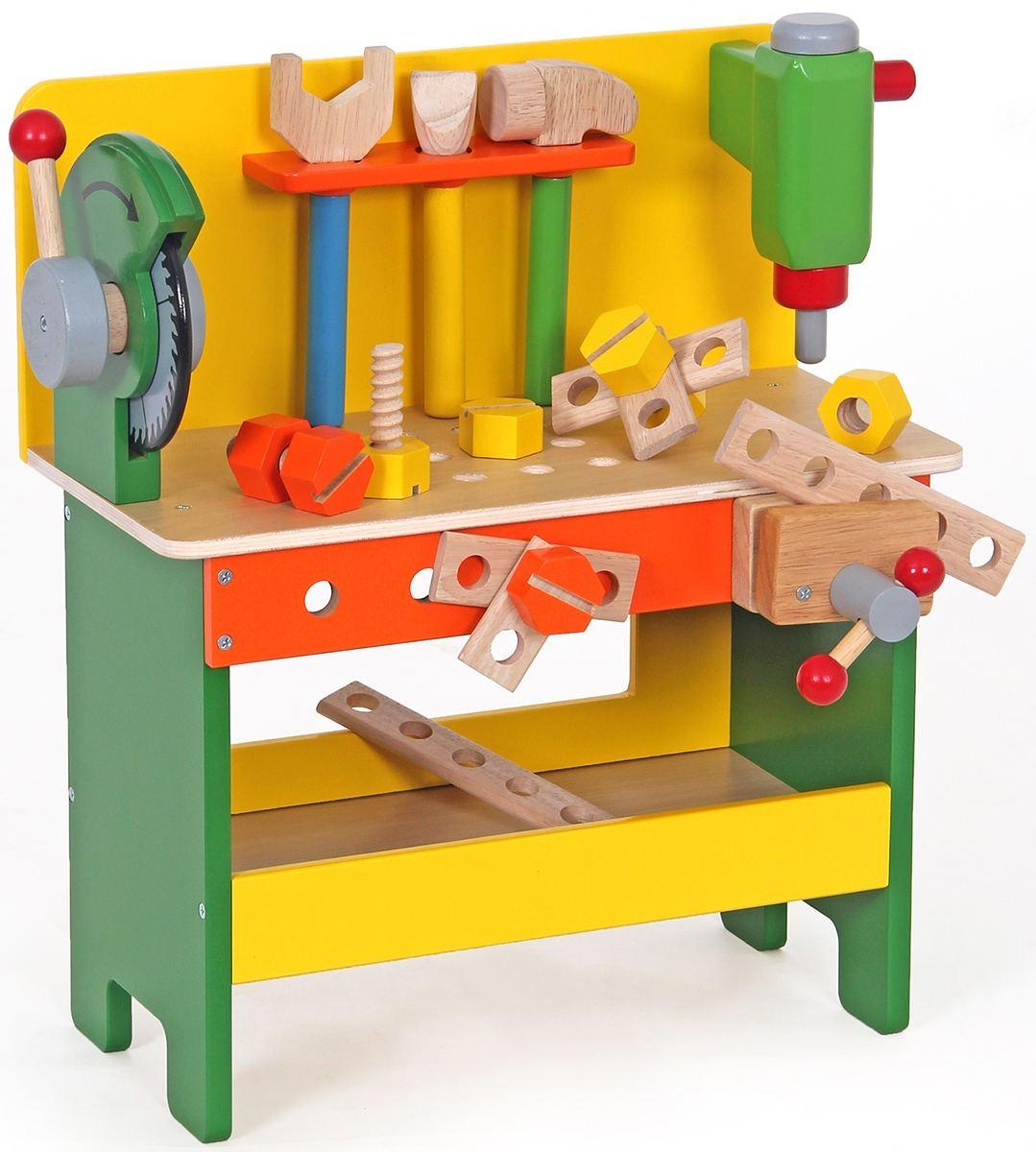 Stand Kinder Werkbank Fur Kleine Handwerker Holz Spielzeug Peitz