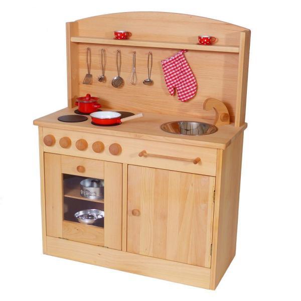 Holz SpielkUche Waldorf Aus Holz 2024 ~   » Kinderküche » Holzkinderküche aus Holz Waldorf 2024  Rapunzel