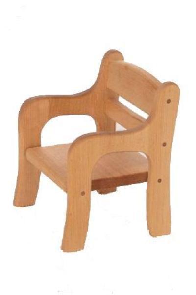 holz puppenstuhl ko puppenm bel holz spielzeug peitz. Black Bedroom Furniture Sets. Home Design Ideas